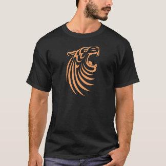 Black Tiger T Shirt   Cool Black Tiger T Shirt