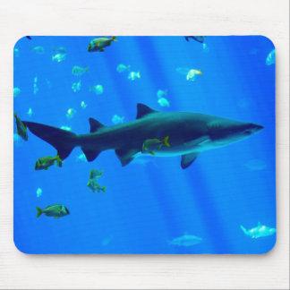 Black Tipped Shark Mouse Mat