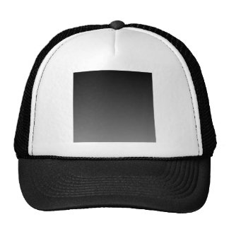 Black to Gray Horizontal Gradient Mesh Hat