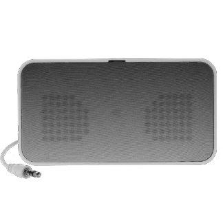 Black to White Horizontal Gradient Portable Speakers