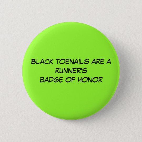 Black toenails are a runner's badge of honour