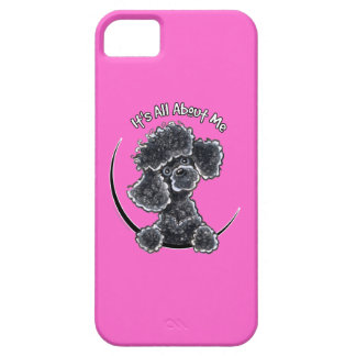 Black Toy Poodle IAAM iPhone 5 Cover