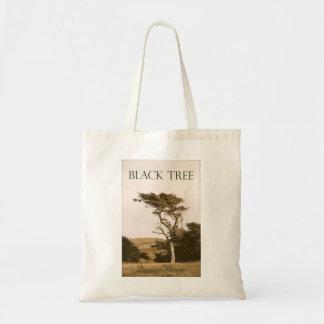 Black Tree Tote