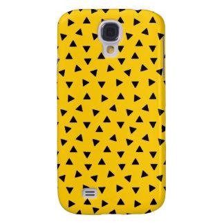 Black Triangle Pattern Custom Case Skin or Cover Galaxy S4 Case