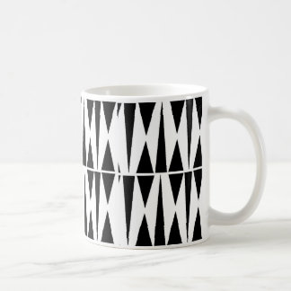 Black Triangles or White Butterflies Coffee Mug