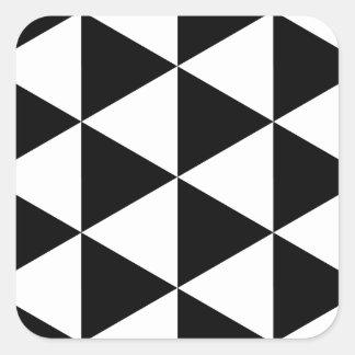 Black Triangles Stickers