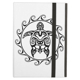 Black Tribal Turtle iPad Air Case