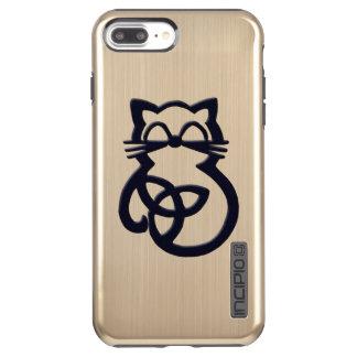 Black Trinity Knot Celtic Cat  iPhone 7  Case
