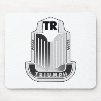 Black Triumph Logo Mousepad
