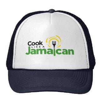 Black Trucker-Style Hat