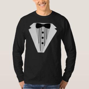 7fb9b2933deb7 Black White Tuxedo Bow Tie Clothing - Apparel