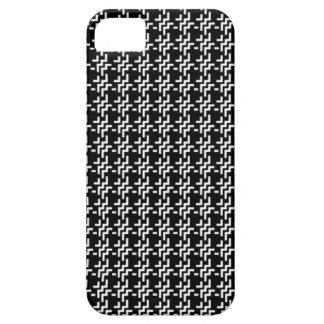 Black Tweed Barely There iPhone 5 Case