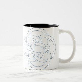 Black Two-Tone Mug