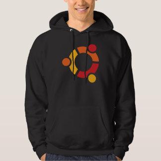 Black Ubuntu Hoodie