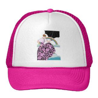 black umbrella cap