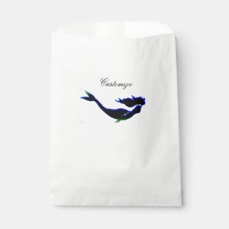 black underwater mermaid Thunder_Cove Favour Bags