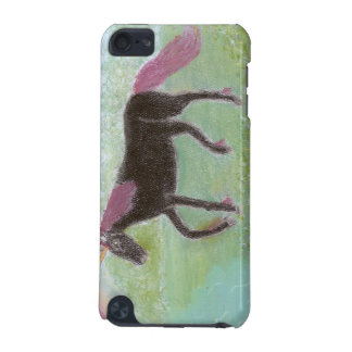 Black Unicorn iPod Touch (5th Generation) Covers