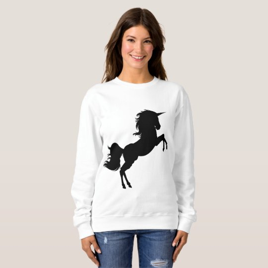 black unicorn sweatshirt