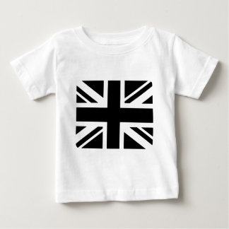 Black Union Jack Baby T-Shirt