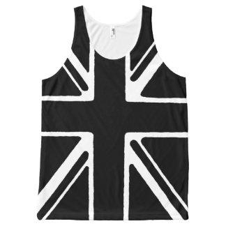 Black union Jack vests