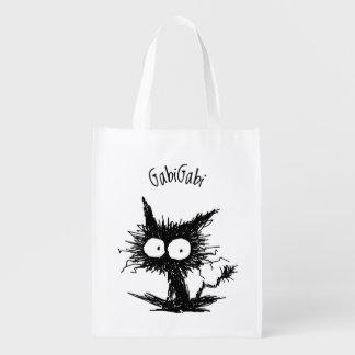 Black Unkempt Kitten GabiGabi