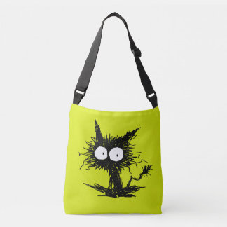 Black Unkempt Kitten GabiGabi Crossbody Bag