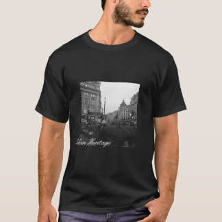 Black Urban Heritage Tee - Oxford Circus