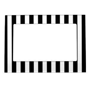 Black White Stripe Picture Frames Zazzlecouk