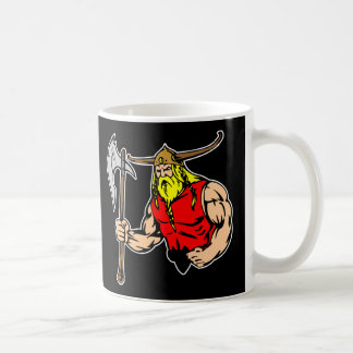 Black Viking Coffee Mug