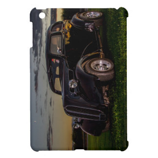Black Vintage Car  iPad Mini Glossy Finish Case Cover For The iPad Mini