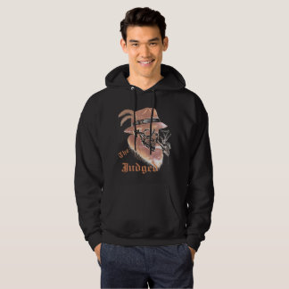 Black Vintage G skull Judged hoodie
