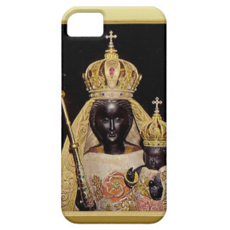 Black virgin Mary and child Jesus Barely There iPhone 5 Case
