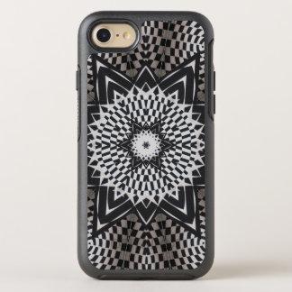 black vs white Mandala OtterBox Symmetry iPhone 8/7 Case