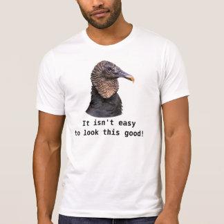 Black Vulture Customizable T-Shirt