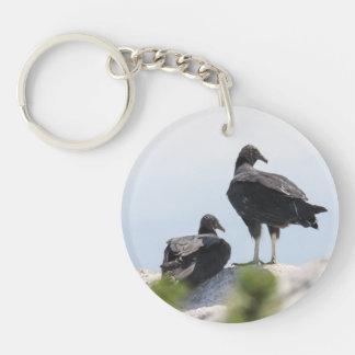 Black Vulture Key Chain