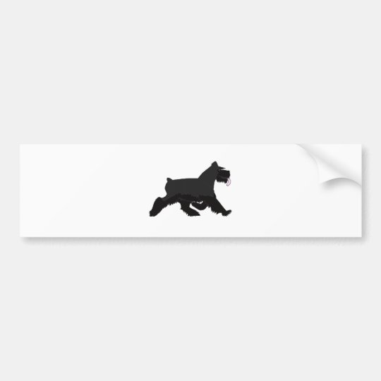 black_walk bumper sticker