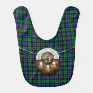 Black Watch Military Tartan And Sporran Bib