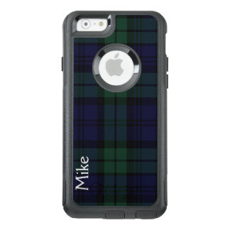 Black Watch Plaid Otterbox iPhone 6S Case