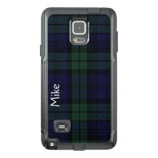 Black Watch Plaid Otterbox Samsung Note 4 Case
