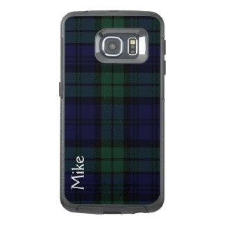 Black Watch Plaid Otterbox Samsung S6 Edge Case