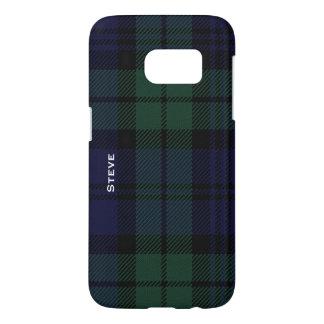 Black Watch Tartan Plaid Samsung Galaxy S7 Case