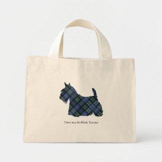Black Watch Tartan Scottish Terrier Bag