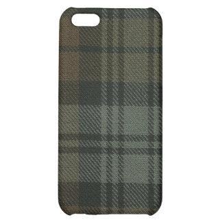 Black Watch Weathered Tartan Plaid iPhone 4 Case