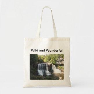 Black Water Falls, West Virginia Wild & Wonderful Tote Bag