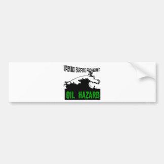 Black Waves Bumper Sticker