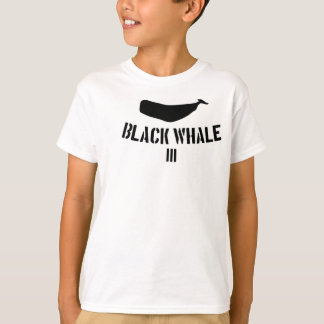 Black Whale III Tee For The Kiddos