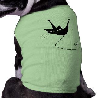 Black Whimsy Kitty 1 Shirt