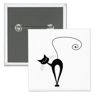 Black Whimsy Kitty 3 Pins