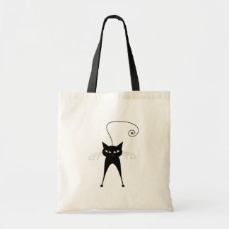 Black Whimsy Kitty 6 Bag