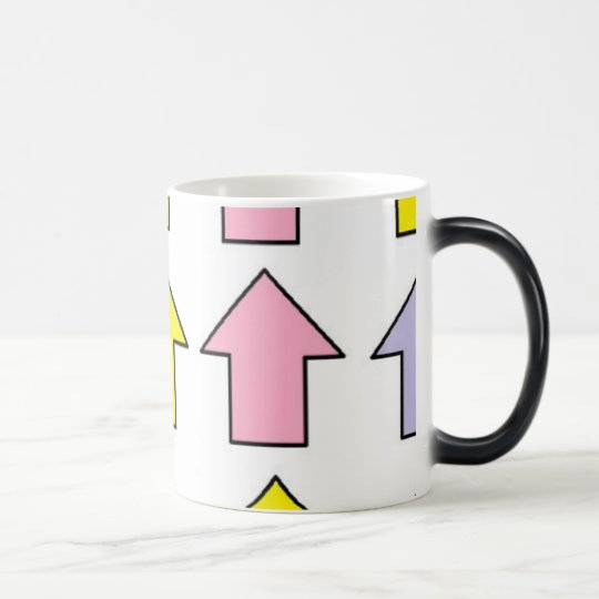 Black/White 11 oz Morphing Mug art by JShao